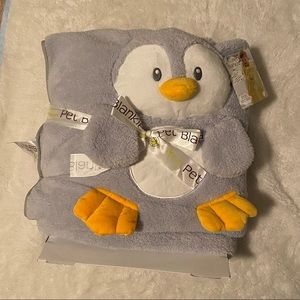 ✨2 for $14✨NWT Penguin My Pet Blankie